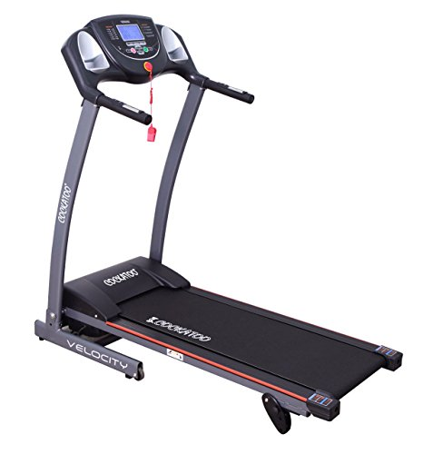 Cockatoo Velocity Series 1.25-HP (2.5 HP Peak) and 1.5 HP (3 HP Peak) DC Motorized Treadmill (Velocity)