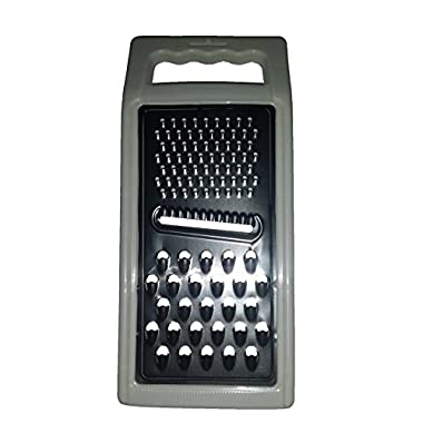 Cheese grater and Vegetable grater cookware with firm grip handle