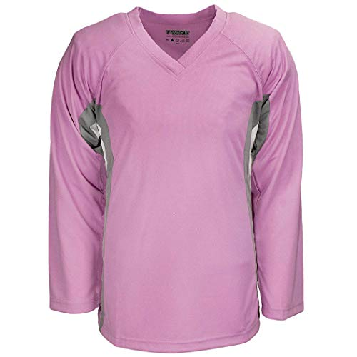 f1216dae2 TronX DJ200 Team Hockey Practice Jersey (Bubble Gum Pink Small)