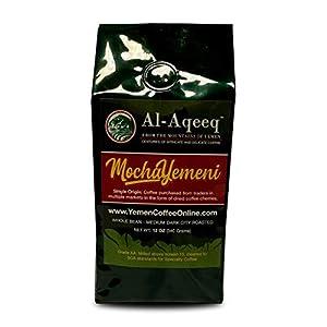Well-Being-Matters 41o7S527wjL._SS300_ Al-Aqeeq: Mocha-Yemeni Whole Bean Coffee| Authentic Yemeni Coffee| Freshly Roasted Yemen Coffee| Coffee From Around The…