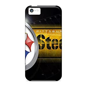 For YcR73IRMi Pittsburgh Steelers Protective Cases Covers Skin/iphone 5c Cases Covers