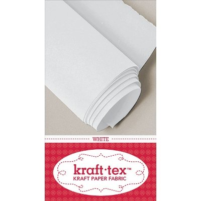 C&T Publishing Kraft-Tex Kraft Paper Fabric, 19 by 54-Inch, White by C&T PUBLISHING