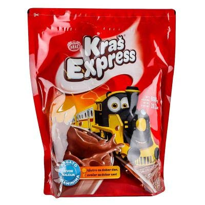 5 x Kras Express Cocoa Instant Powder Drink Mix 800 gr (8 lb) : Grocery & Gourmet Food