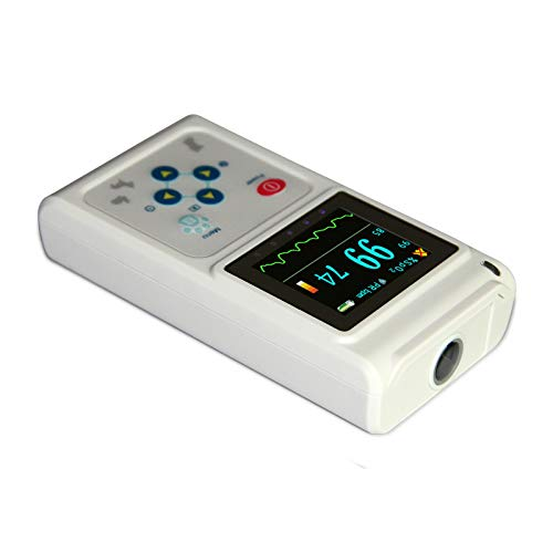CONTEC CMS60D-VET Veterinary Pulse Oximeter Handheld Machine for Cat and Dog with Pulse Rate Tongue/Ear SPO2 Probe
