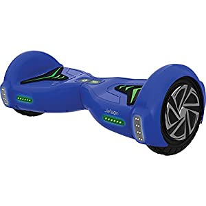 Jetson Blue V5 Hoverboard Smart 2-Wheel Electric Self Balancing Scooter - Kids 13+ yrs, Adults - Bluetooth Speaker, LED Lights, App Included - UL 2272 Certified 23 Inch Board