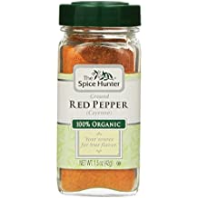 The Spice Hunter Red Pepper (cayenne) Ground, Organic, 1.5-Ounce Jar