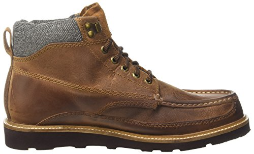 Superdry Everest Mountain, Botas Chelsea Para Hombre, Marrón (Distressed Brown), 43 EU