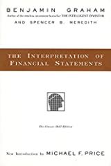 The Interpretation of Financial Statements: The Classic 1937 Edition Hardcover