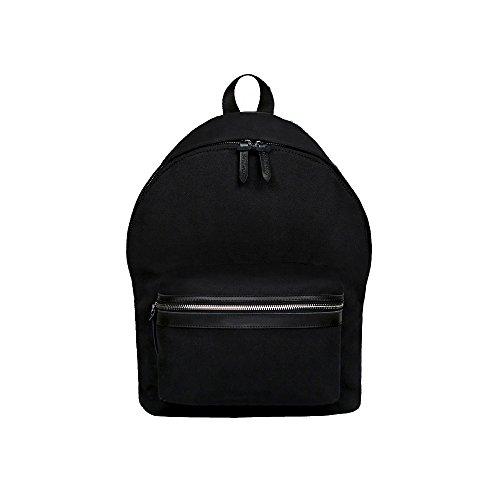 unisex-backpack-black-canvas-large-capacity