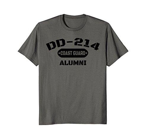 DD-214 US Coast Guard Alumni T-Shirt Men and (Us Coast Guard Costumes)