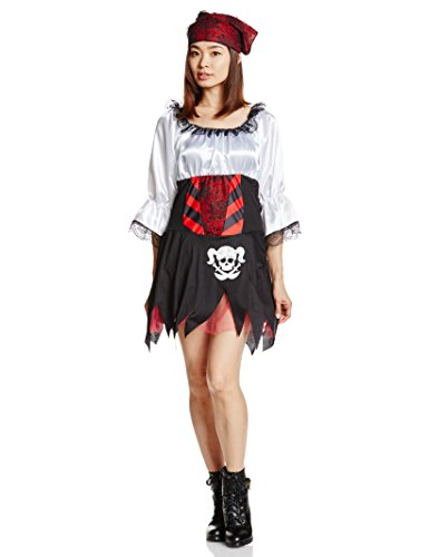 Rubie's Punky Pirate Lass, Multicolored, One Size Costume