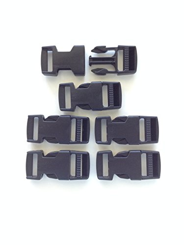 ITW Nexus Classic SR 1 Military Replacement Backpack Pack Snap Buckle Set of 6 - Snap Buckle