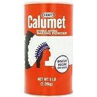 Calumet Baking Powder, 5 lb. pack, Pack of 6