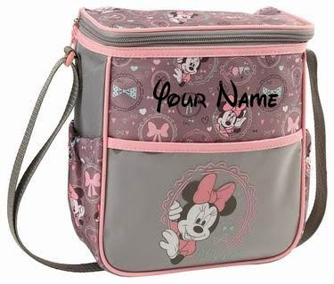 Personalized Disney Minnie Mouse Small Baby Duffel Diaper (Personalized Items)
