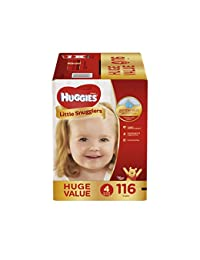 HUGGIES Little Snugglers Baby Diapers, Size 4, 116 Count BOBEBE Online Baby Store From New York to Miami and Los Angeles