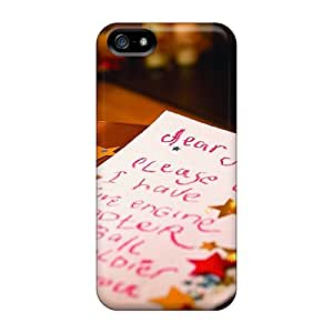 Iphone Case - Tpu Case Protective For Iphone 5/5s- Letter To Santa Holidays