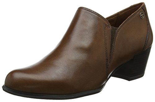 Leather Boots Tamaris 24400 Women's Ankle Muscat Brown 356 WHTqAwYT