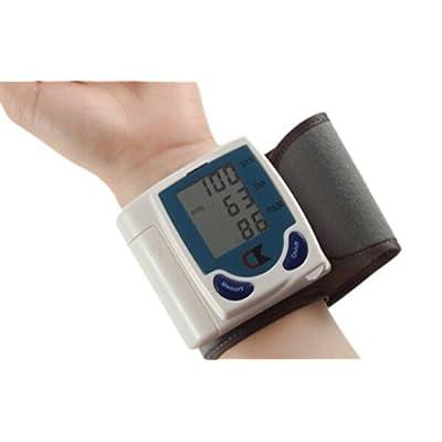 A-SRHY Diagnostic et suivi de l'état de santé Surveiller la pression artérielle du poignet avec 90 Capacité mémoire, Mode 2 Utilisateurs