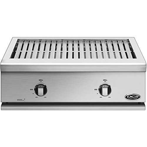 (DCS Liberty Built-In All-Grill (71125) (BFGC-30G-N), 30-Inch, Natural Gas)
