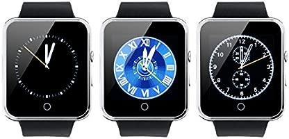 VOSMEP Reloj Inteligente Deportivos Smart Watch Soporte Facebook Twitter 3.0 Teléfono Inteligente Pulsera 1.54 Pantalla Táctil Cámara para Android ...