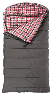 "TETON Sports Celsius XL -32 Degree C / -25 Degree F Flannel Lined Sleeping Bag (90""x 36"")"