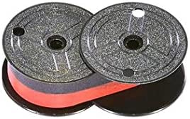 Package of Three Monroe 2020 Plus II Calculator Ribbon Compatible Black and Red