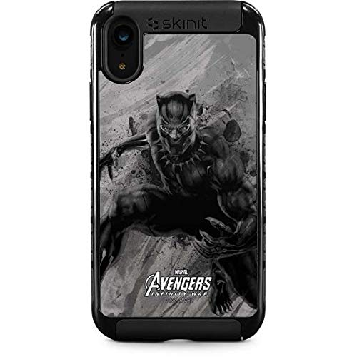 huge discount 3665f ad1d4 Amazon.com: Black Panther iPhone XR Case - Marvel/Disney | Skinit ...