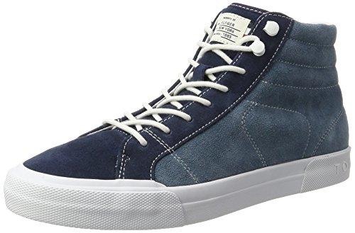 Tommy Hilfiger Y2285armouth 3b, Sneakers Hautes Homme Bleu (Navy Fm0fm00982/901)