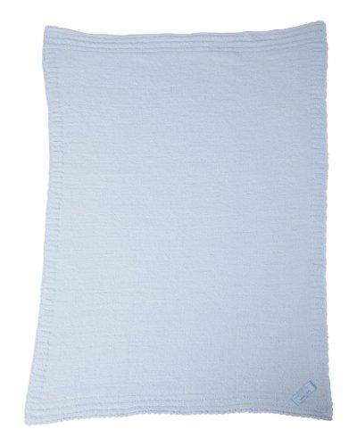 Colorado Clothing Original Micro Chenille Baby Blanket, Reef Blue ()