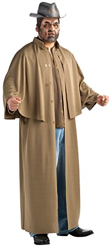 Rubie's Costume Co Men's Plus-Size Jonah Hex Deluxe Costume, Brown, One Size