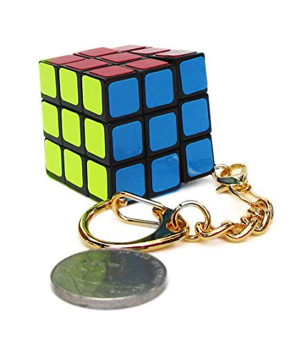 - Aŭtuno Cubes, a 3x3x3 Cube of Keychains, Turn Puzzles, Puzzles, The Clip Keychain with Gold Metals (six Colour Stickers)