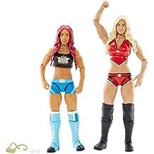 WWE DXG40 Superstars Action Figure Sasha Banks and Charlotte