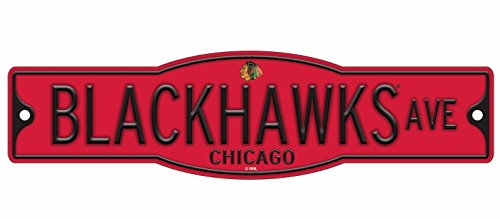 Sign Chicago Street Blackhawks - Wincraft Chicago Blackhawks 4