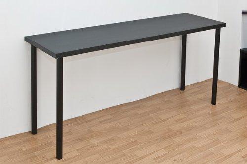 フリーテーブル150×45cmスリム幅 ブラック(TY-1545BK) B005LT0HC6