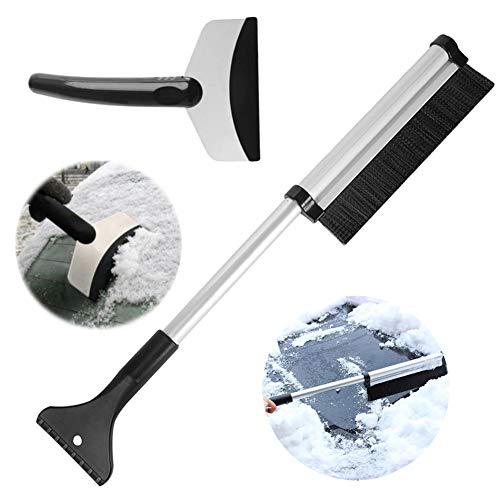 Shovel Extendable (IronBuddy Telescopic Snow Brush Ice Scraper From 17