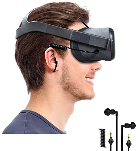 Headphone Earbuds Earphones Custom Made for Oculus Quest VR Headset