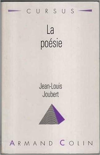 Best ebooks 2017 télécharger La Poésie 2200330227 en français PDF