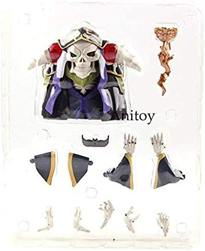 Ainz Ooal Jurk Momonga Action Figure Nendoroid 631 10 Jaar PVC Collectible Model Toy met Doos-Met Doos