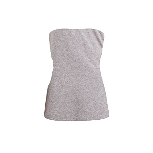 Toocool - Camiseta sin mangas - para mujer Grigio Chiaro Melange