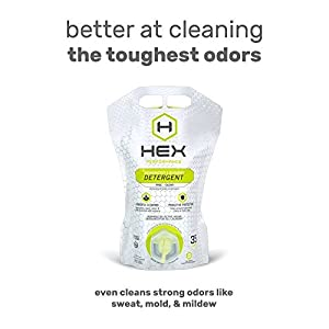 HEX Performance Advanced Laundry Detergent, Free + Clear, Yields 35 Loads, 35 Ounce Pouch