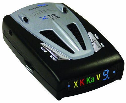 Cheap Whistler XTR-255R Radar/Laser Detector