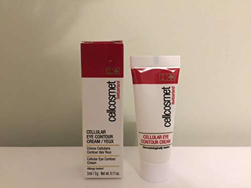 Cellcosmet Switzerland Cellular Eye Contour Cream, Deluxe Mini, .11 oz 0.11 Ounce Mini
