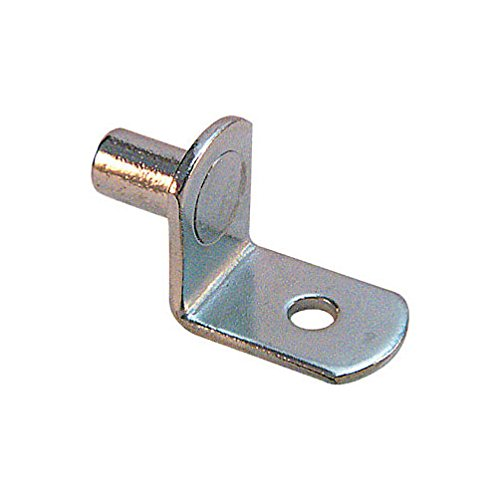Prime-Line Shelf Support Pegs 1/4'' Steel Nickle Plated Card by Prime-Line Products/Slide-Co