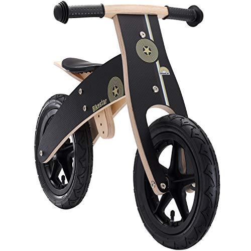 🥇 BIKESTAR Bicicleta sin Pedales para niños y niñas   Bici Madera 12 Pulgadas a Partir de 3-4 años   12″ Edición Sport