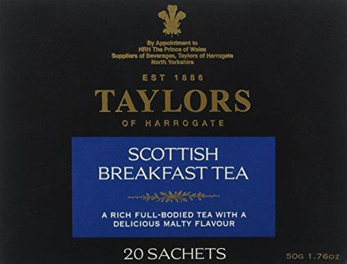 Taylors of Harrogate, Scottish Breakfast Tea, 20 ct (Harrogate Scottish Breakfast)