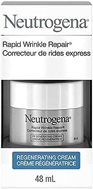 Neutrogena Anti Aging Retinol Face & Eye Cream, Rapid Wrinkle Repair Moisturizer, 4