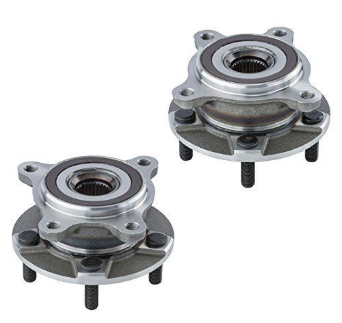 (2 DTA Front Wheel Hub Bearing Assemblies NT513365513366 Fits Front Left and Right Lexus GS300 GS350 IS250 IS300 IS350 RC300 RC350 AWD Only)