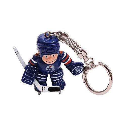 Nhl Key Ring Edmonton Oilers (NHL Edmonton Oilers Goalie Keychain)