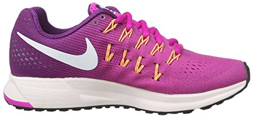 bright Da Air 33 Corsa Zoom Pink Donna weiß Pegasus Grape Rosa Scarpe fire Wmns Nike 4YUqOp