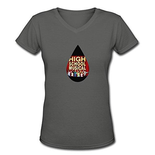 Women's Zac Efron Poster High School Musical T-Shirt.